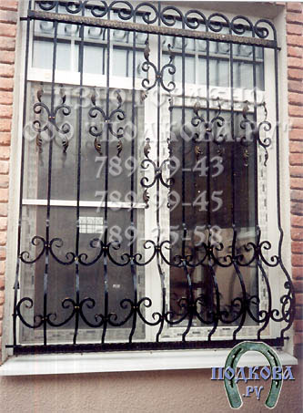 решеток на окна по эскизам
